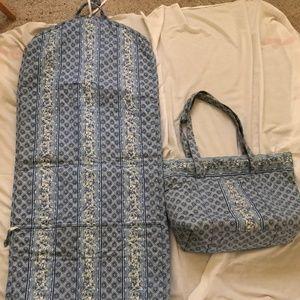 Longaberger luggage travel XL tote & garment bags